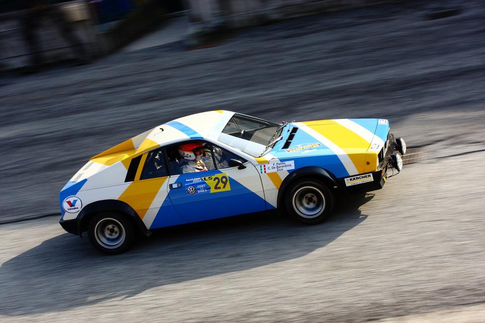 Az egyik legritkább Lancia-raliautó: a Beta Montecarlo. 1975-ben homologizálták, de nem sok versenyen indultak vele. Annál több sikert ért el viszont a hosszútávú pályaversenyeken ugyanez a típus turbóval szerelt változata