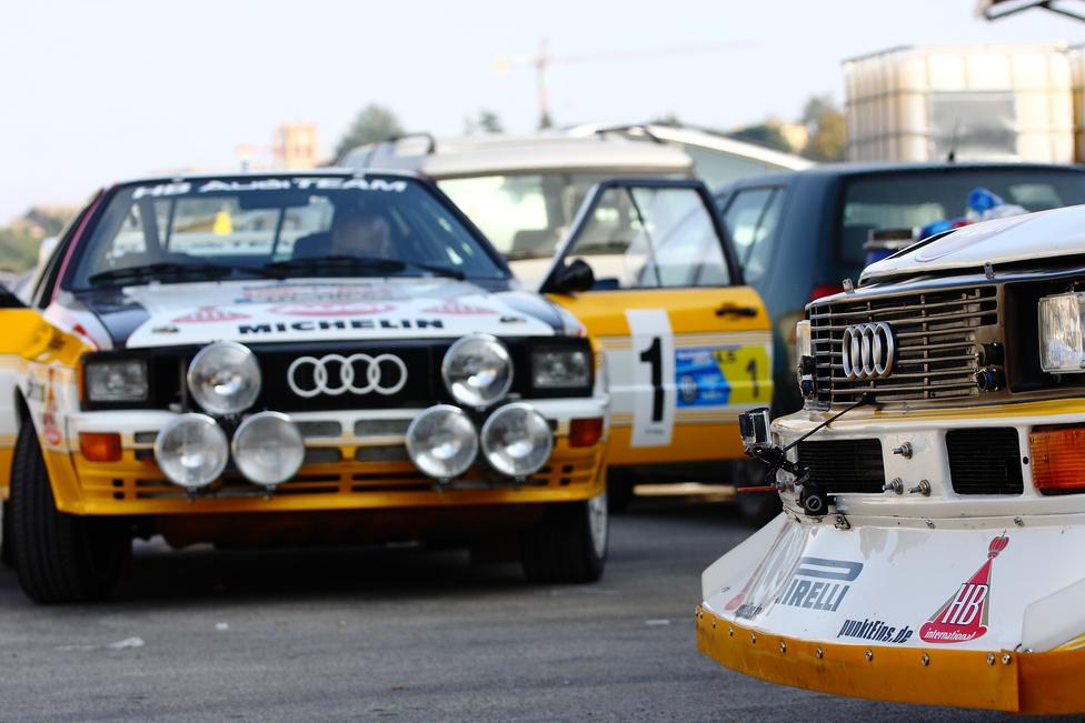 A2 vs. S1 – azt hiszem nem kellene sokat gondolkoznom a válaszon. A2-t ugyanakkor a magyar pályákon is lehetett látni annak idején, hiszen örökös bajnokunk Ferjáncz Attila is indult ilyen Audival (kék-fehér Rothmans dizájnnal)