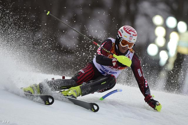 Samsal Dalibor a téli olimpián Szocisban, 2014. február 22-én.