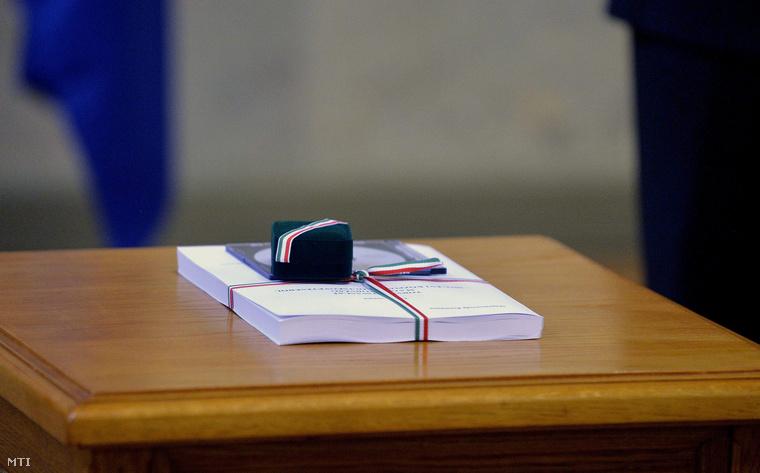 A 2015. évi költségvetési törvényjavaslat a Parlament Delegációs termében