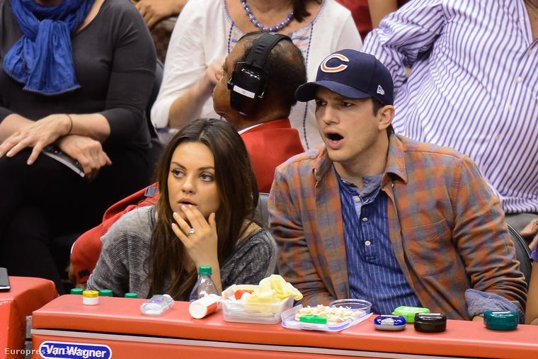 Mila Kunis és Ashton Kutcher