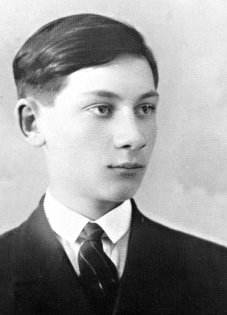 Sándor István diákkorában
