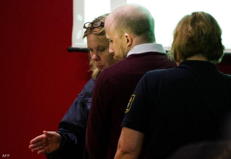 Gottfrid Svartholm Warg 2013. május 20-án a Nacka Kerületi Bíróságon.