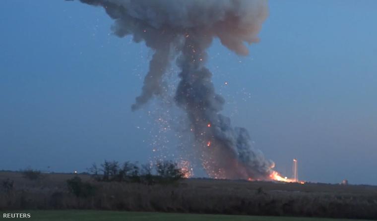 Az Antares október 29-én robbant fel