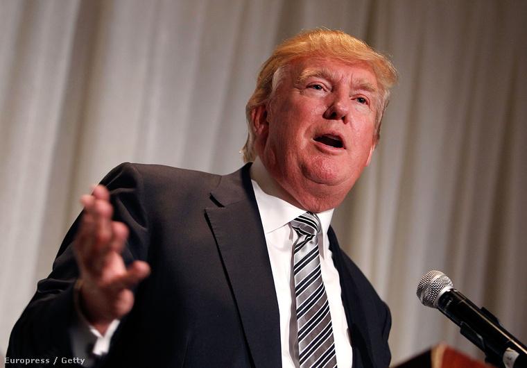 Donald Trump: nehéz vele versenyezni, napi 3-4 órát pihen