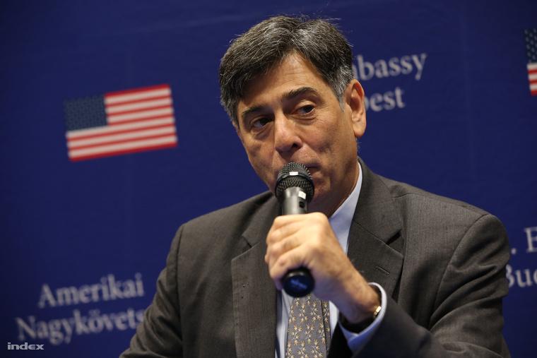 André Goodfriend Amerika budapesti nagykövetségének ügyvezetője