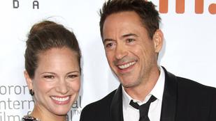 Fura nevet kapott Robert Downey Jr. kislánya