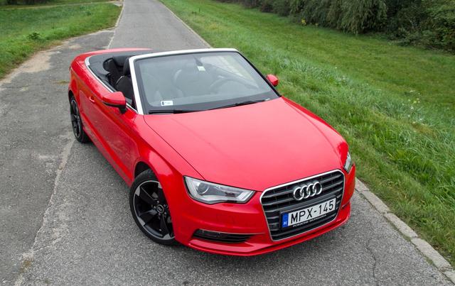 A karosszéria merevebb, mint sok konkurenséé, de teljességgel kiküszöbölni az idegesítő remegést még az Audinak sem sikerült