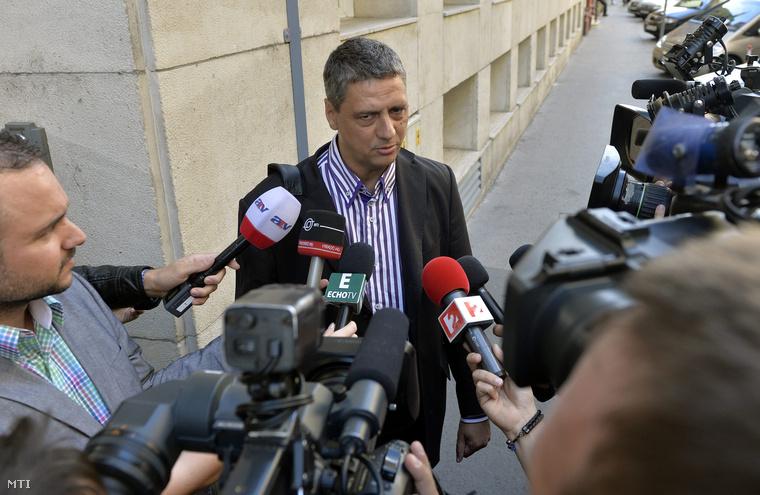 Gréczy Zsolt egy korábbi sajtótájékoztatón