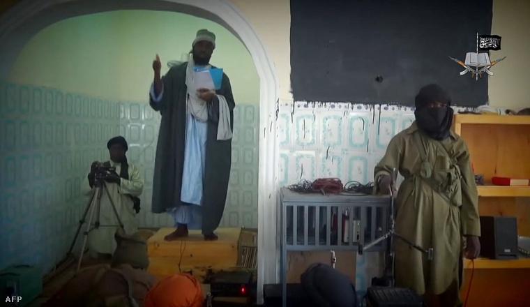 A Boko Haram vezérének november 9-i videoüzenete