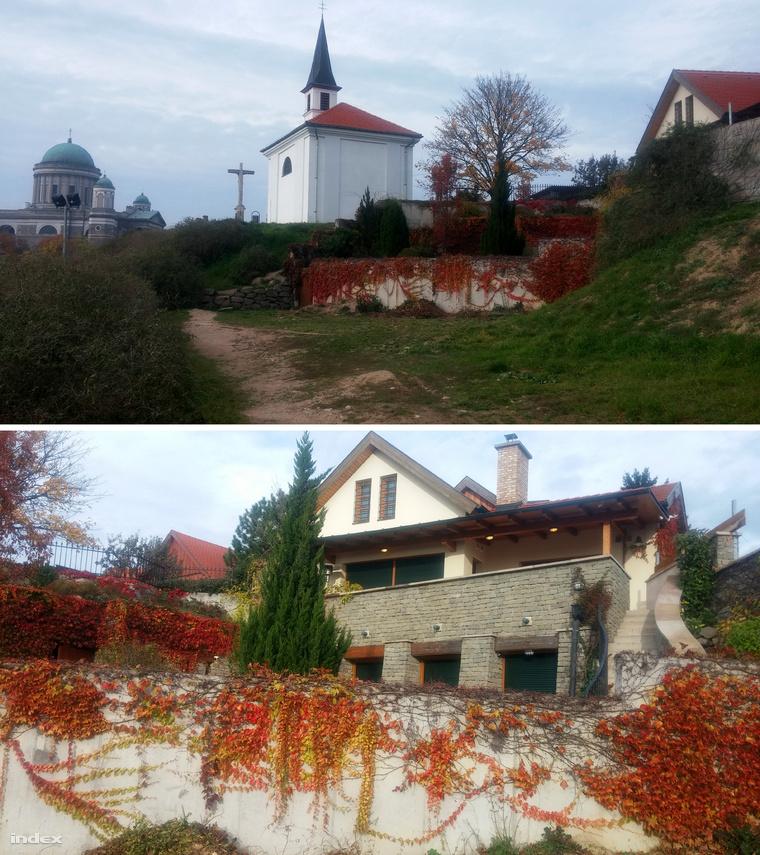 Hernádi Zsolt festői környezetben lévő ingatlana Esztergomban, ahol Kiss-Rigó is rendszeresen megszáll.