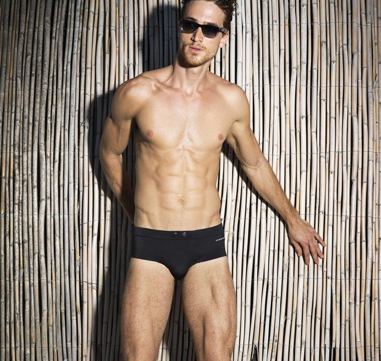 A modell brazil, a neve Celso Carvalho