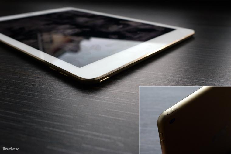 Amikor a tablet az asztalon fekszik, nehéz megnyomni a tetején lévő kapcsolót, hogy lezárjuk a kijelzőt.