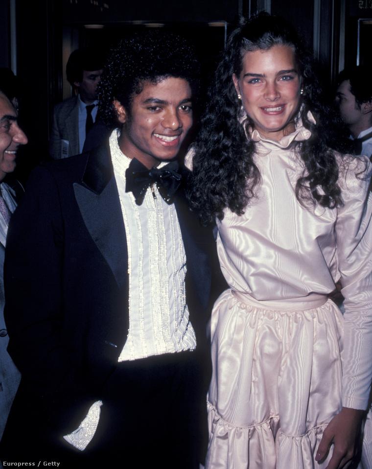 Brooke Shields és Michael Jackson