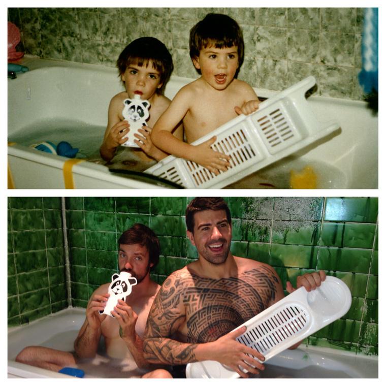 Fürdőkádban