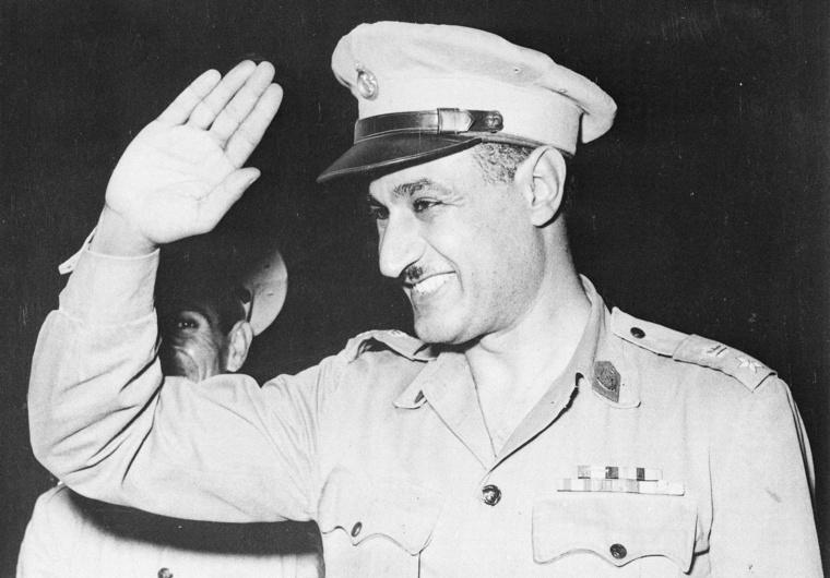 Abdel Nasszer 1954-ben