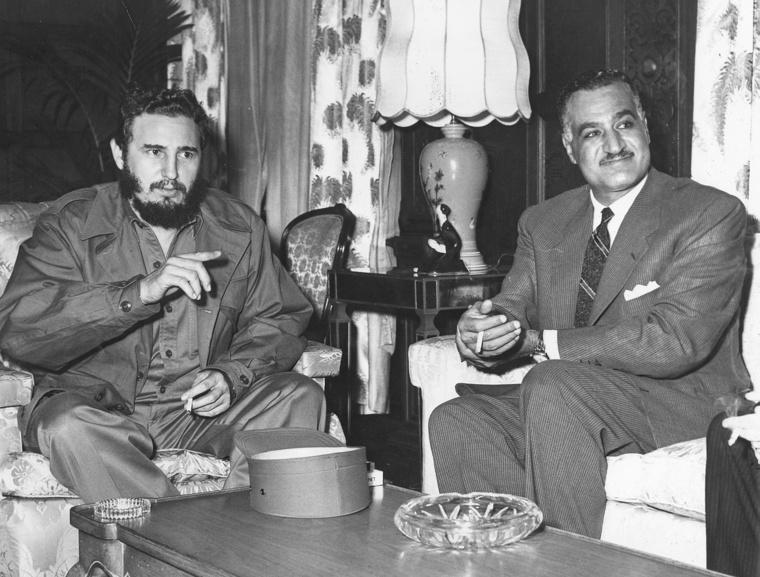 Castro és Nasser 1960-ban
