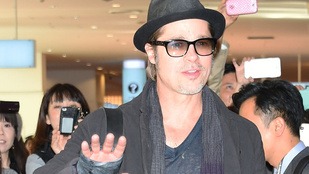 Brad Pitt elegáns hajléktalannak öltözött