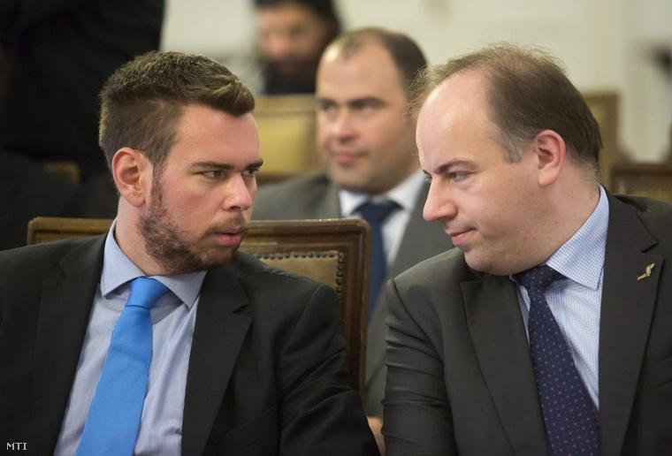 Vitézy Dávid és Tomasz Wozniak