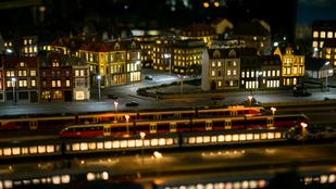 A budapesti éjszaka terepasztalon is pazar