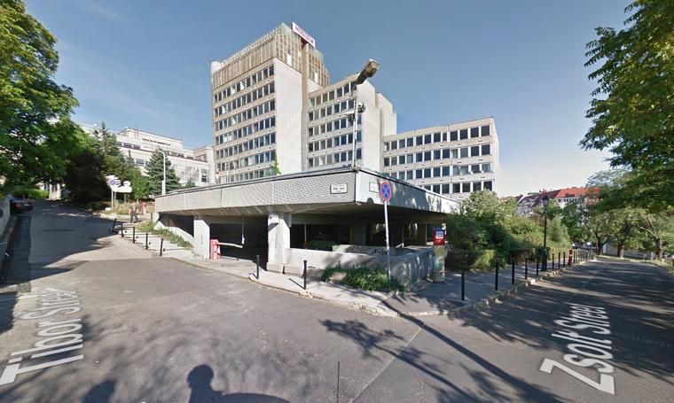 Az épület a Google utcatérképén