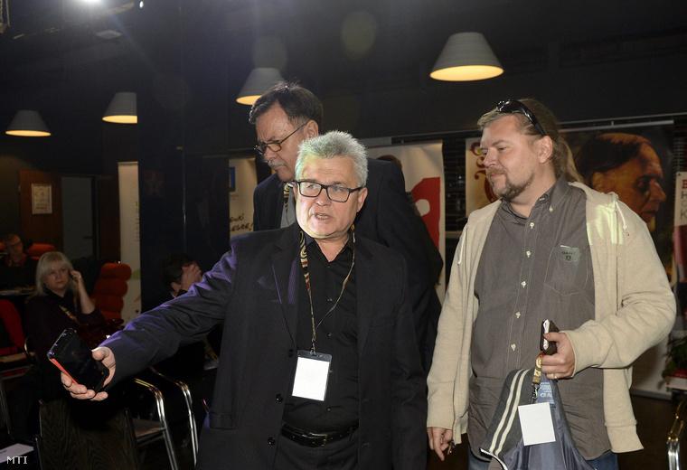 Márta István a Magyar Fesztivál Szövetség (MFSZ) elnöke és Gerendai Károly
