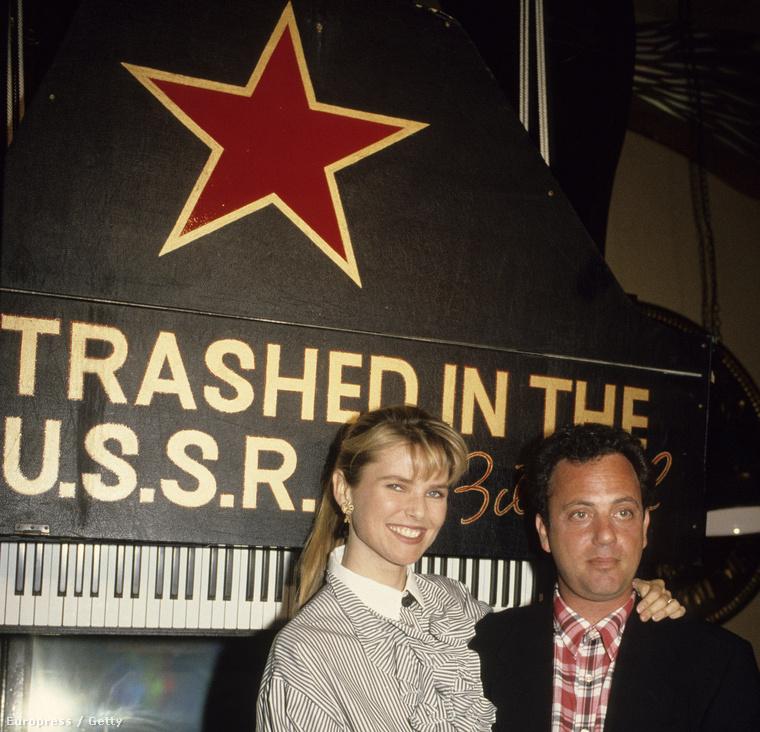 Christie Brinkley és Billy Joel (1987)