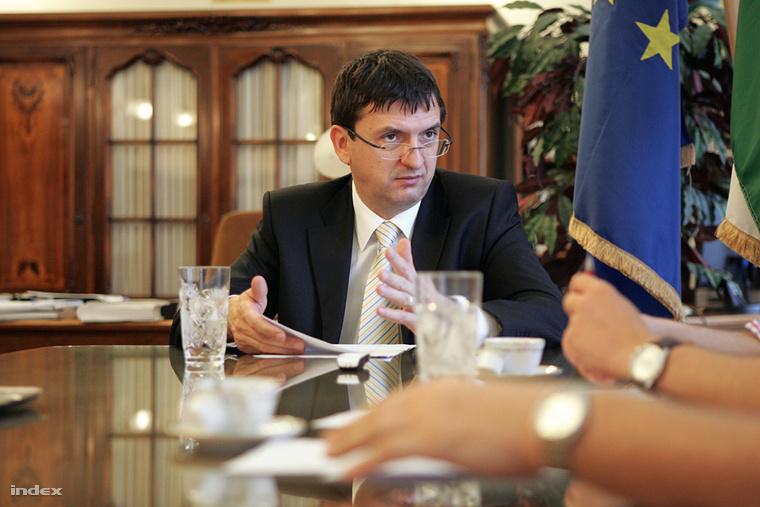 Domokos László, az Állami Számvevőszék elnöke