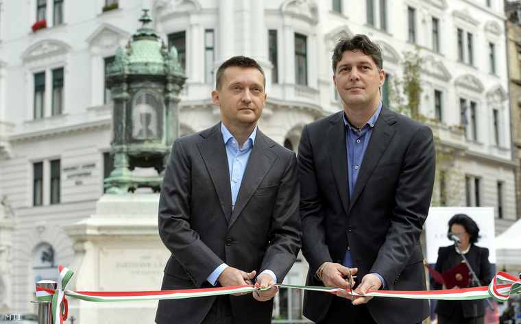 Rogán Antal és Szentgyörgyvölgyi Péter