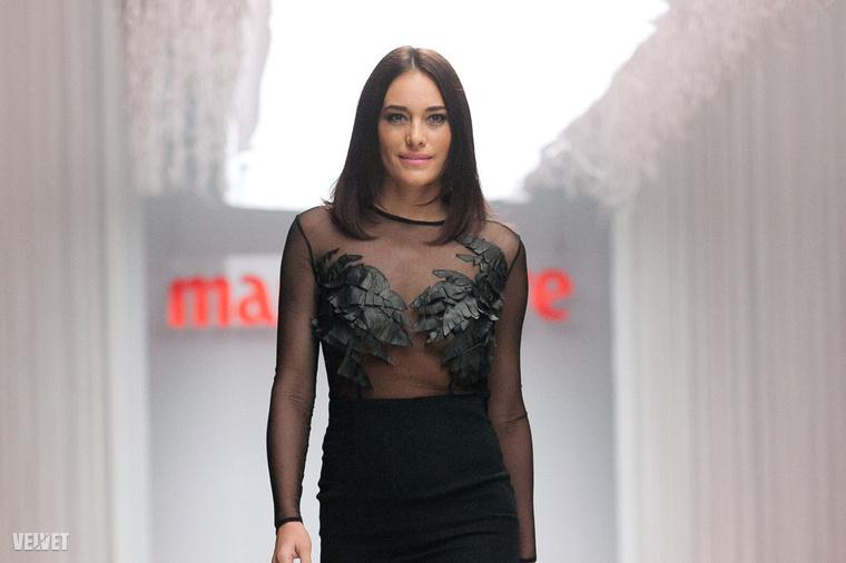 Görög Zita a Marie Claire Fashion Days kifutóján