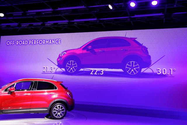 Terepszögek egy 2014-es városi SUV bemutatóján? Dzsízüsz