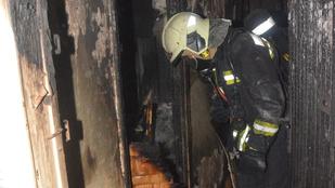 Paneltűz pusztított a budaörsi lakótelepen