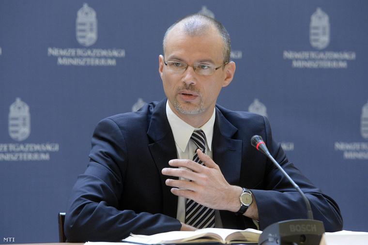 Banai Péter Benő, a Nemzetgazdasági Minisztérium (NGM) államháztartásért felelős államtitkára
