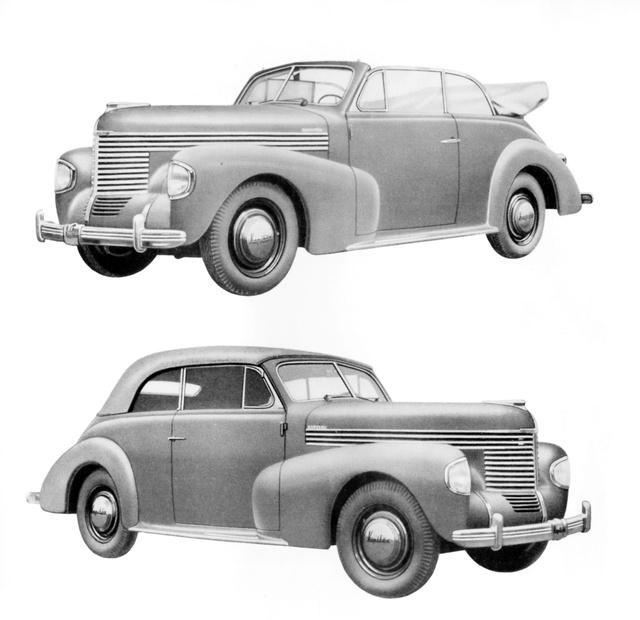Így nézett ki az 1939-es gyári Cabriolet. 4560 készült belőle