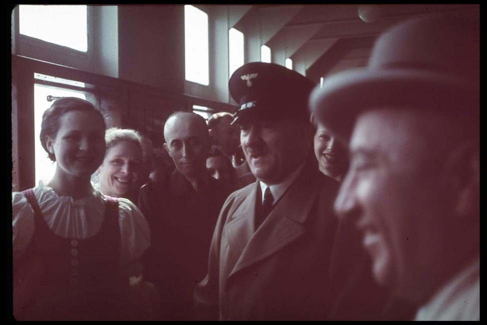 Hitler egy hajóúton a KDF fedélzetén