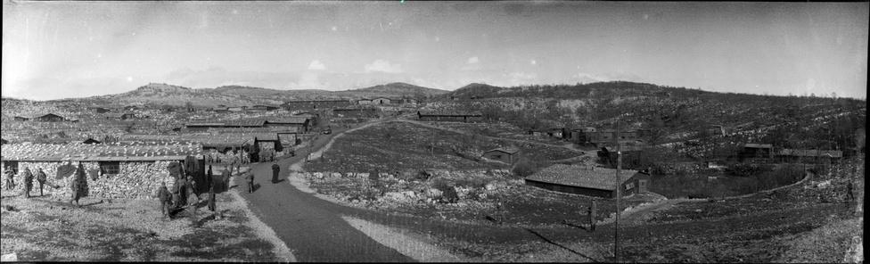 Szálláshelyek a front mögött (tábori kórház is), 1916.