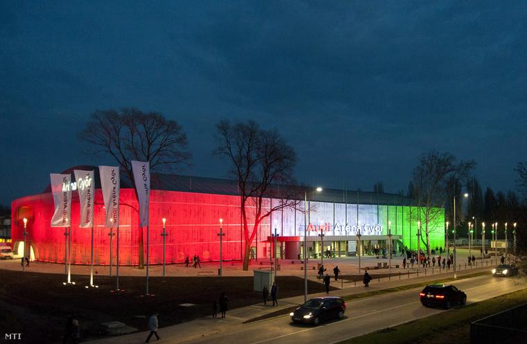 Audi Arena Gyor2 sportmenu