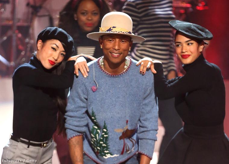 Pharrell Williams a Very Grammy Christmas nevű eseményen lép fel