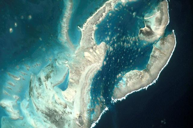 A Madagaszkár melletti szigetcsoport zátonyai