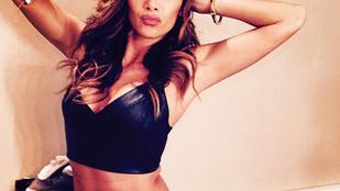 Nicole Scherzinger hasa már nem is lehetne ennél laposabb