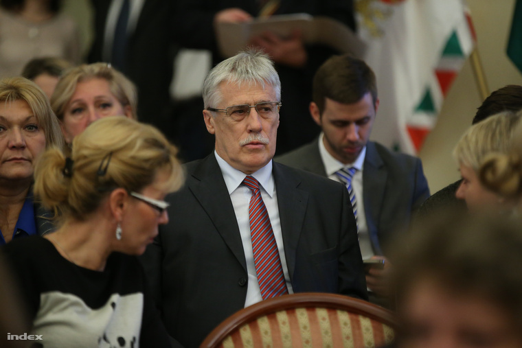 Horváth Béla a közgyűlésen