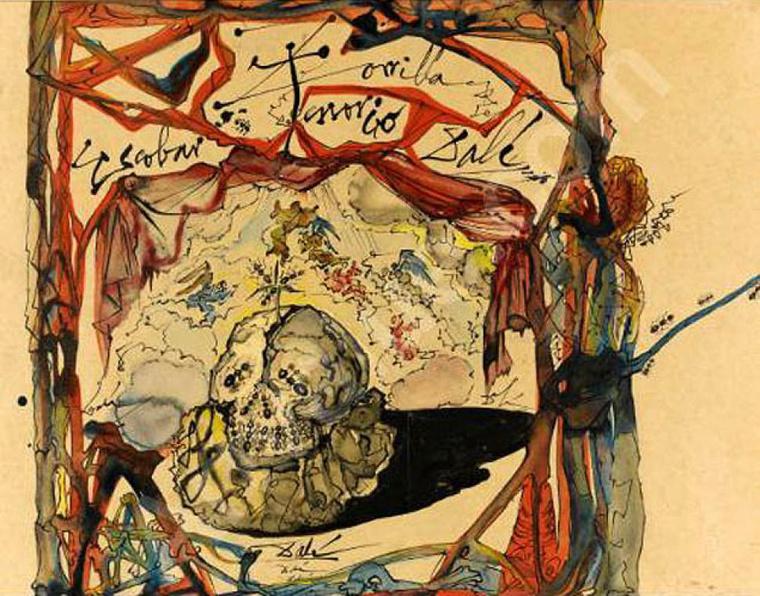 Salvador Dali: Cartel de Don Juan Tenorio