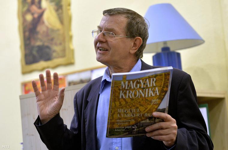 Bencsik Gábor a Magyar Krónikafőszerkesztője