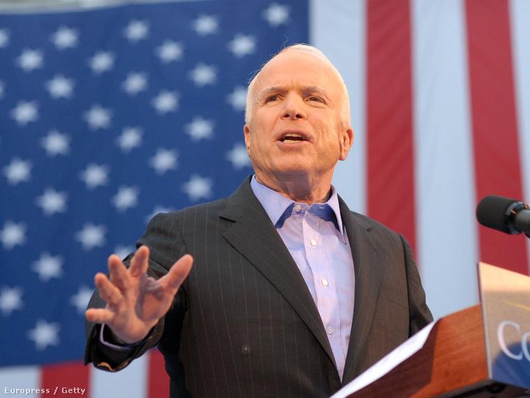 McCain a 2008-as kampányban