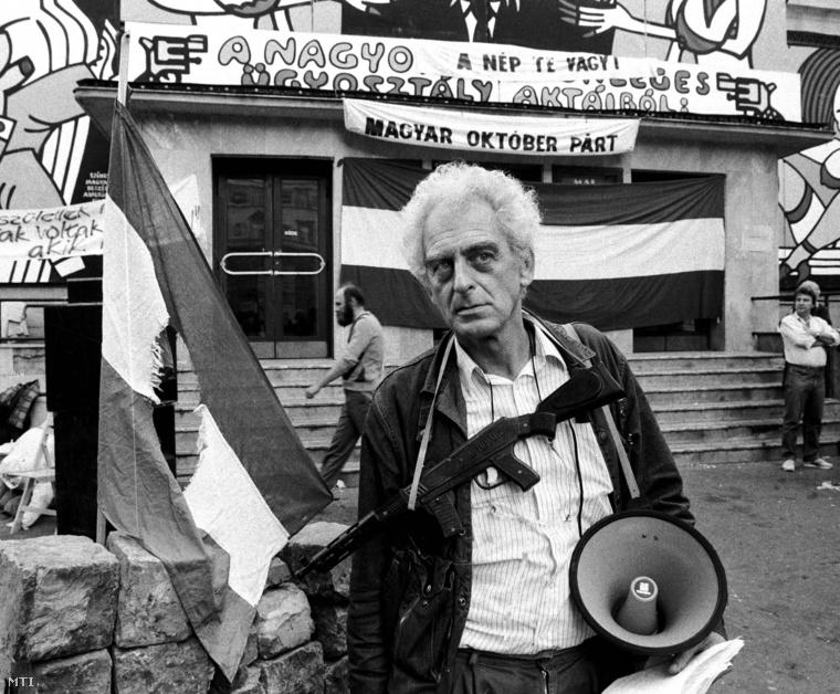 Krassó György 1989 októberében