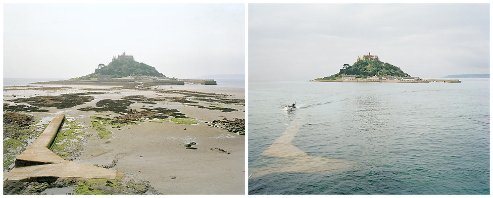 """Biztos nem tudta, hogy a híres Mont Saint-Michel apátságnak a La Manche-csatorna túlpartján megvan a maga párja, a Cornwall-i Szent Mihály hegye. Az apálysziget neve a helyi nyelvjárásban """"Karrek Loos yn Koos"""", ami annyit tesz """"Deres szikla az erdőben""""."""