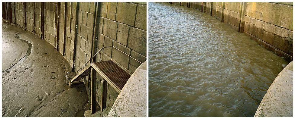 Az óceánhoz csak egy szűk szoroson keresztül kapcsolódó görög- vagy horvát tengerparton szinte észre sem lehet venni a vízszint változását, de Bristoli öbölben akár 15 méteresre is duzzadhat a dagály. Volt lépcső - nincs lépcső.