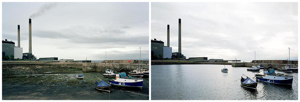 Azért van olyan partvidék, amin a tenger sem segít: a Teith folyó gyárakkal szegélyezett tölcsértorkolata apály és dagály idején is ugyanolyan csúf.