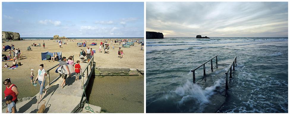 A brit árapály ökoszisztémája az algáktól és kagylóktól kezdve egészen a szörfösökig és strandolókig terjed.