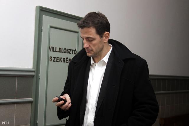 Pásztor István 2011-ben a veszprémi bíróságon